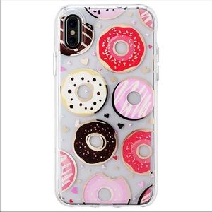Clear Donuts iPhone Case